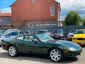 JAGUAR XK8 4.0 V8 COUPE AUTOMATIC - 1997/R + 12,000 MILES For Sale