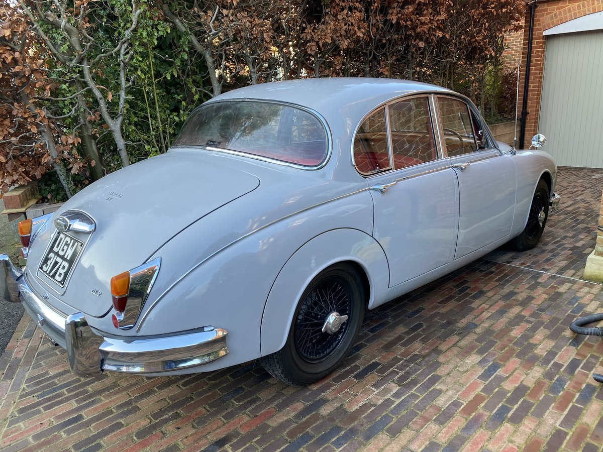 1964 Jaguar 3.8 Man with Vicarage Upgrades For Sale (picture 2 of 6)