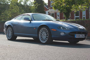 2005 Jaguar XK8 Coupe Light Blue Metallic