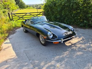 Rebuilt 1968 Jaguar E-Type Series 2 OTS