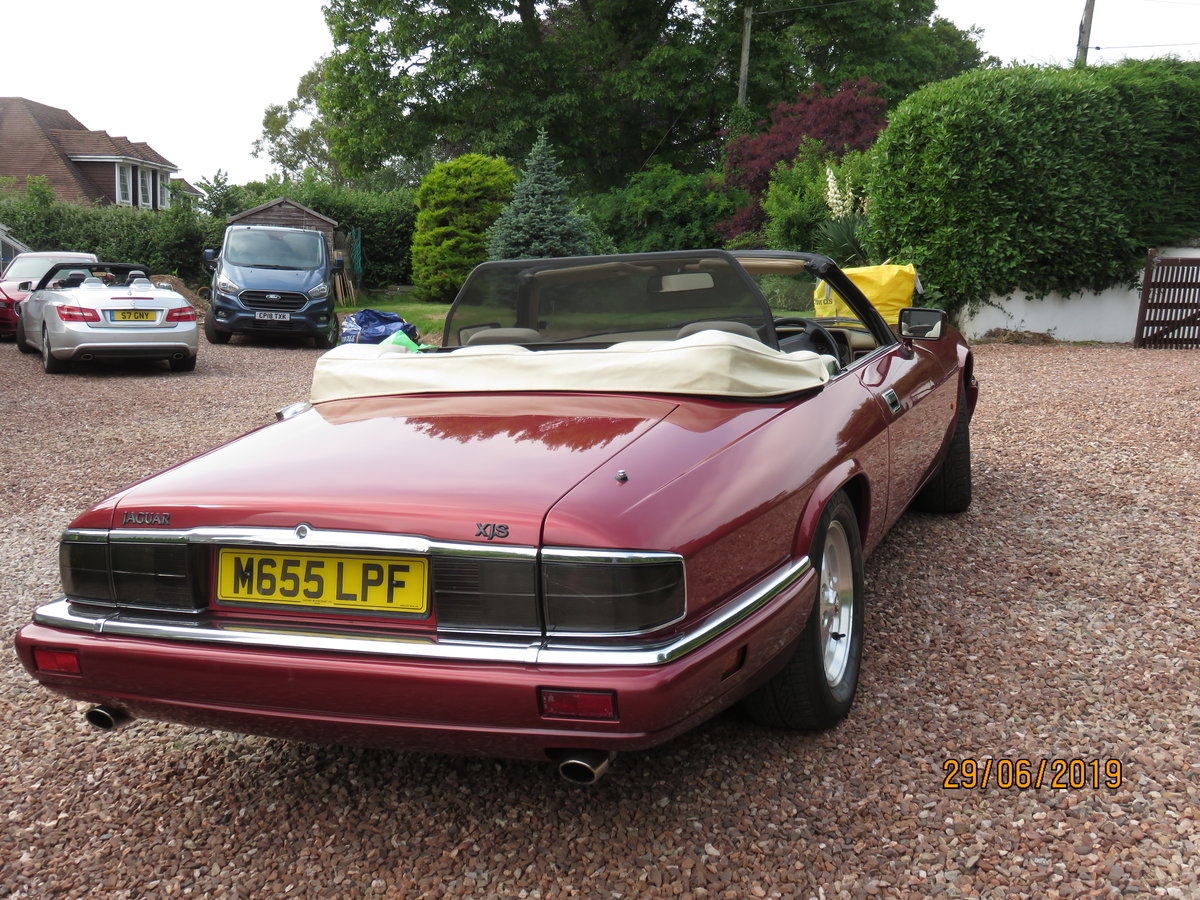 1995 XJS  Convertible For Sale (picture 3 of 6)