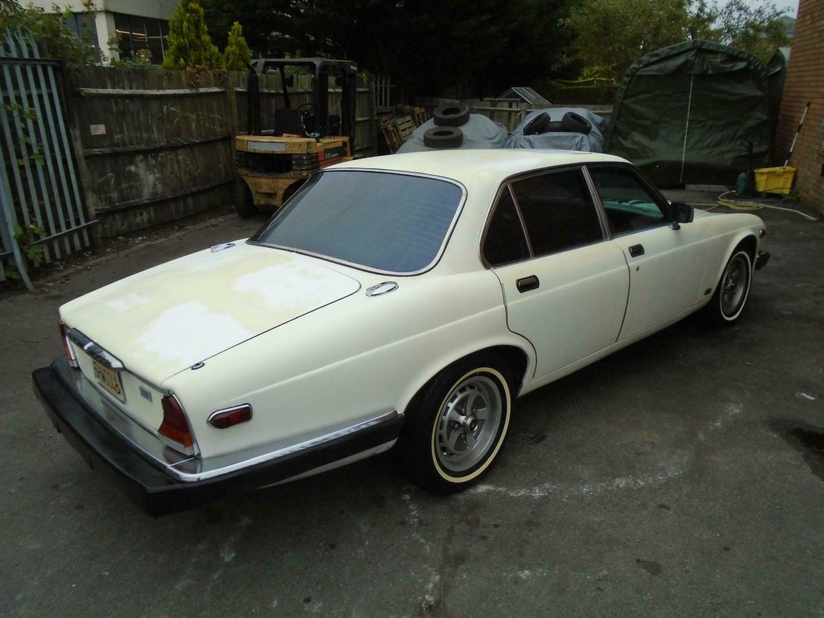 JAGUAR XJ6 SERIES 3 4.2 AUTO LHD (1983) FACTORY WHITE! SOLID For Sale (picture 3 of 6)