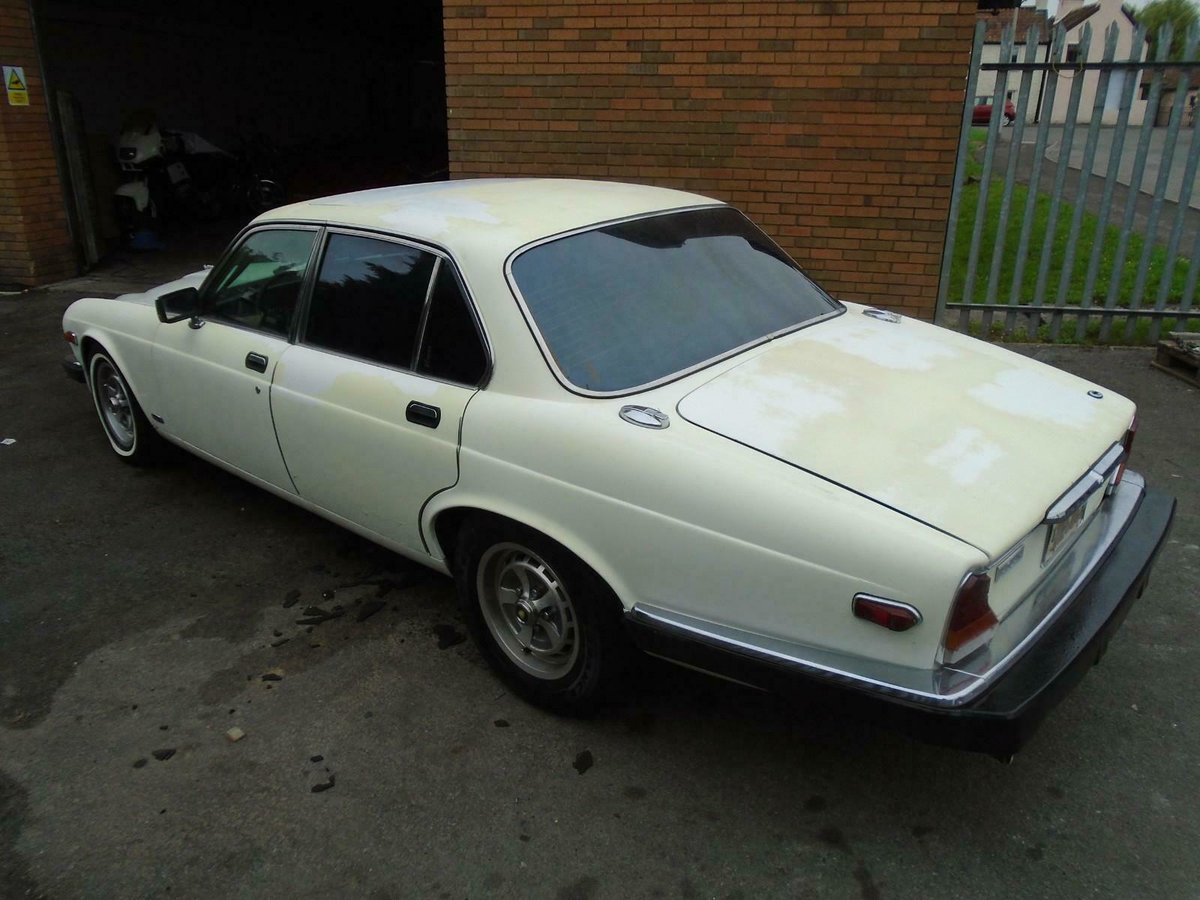 JAGUAR XJ6 SERIES 3 4.2 AUTO LHD (1983) FACTORY WHITE! SOLID For Sale (picture 4 of 6)