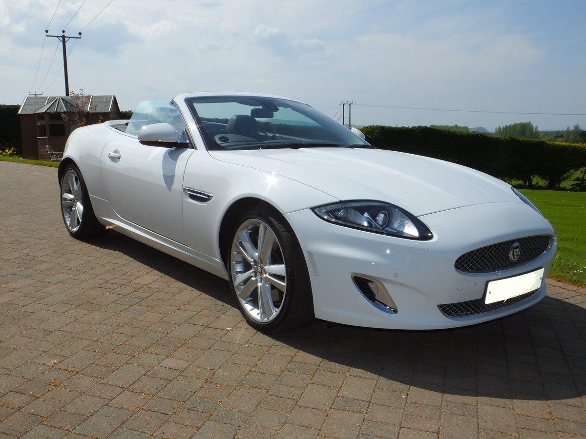2012 Jaguar xk portfolio convertible12k miles REDUCED For Sale (picture 1 of 6)