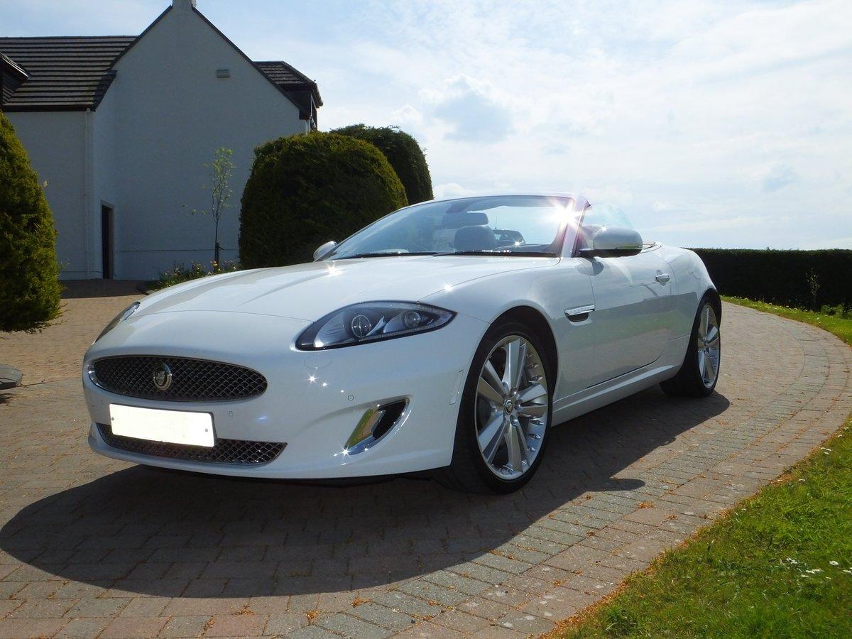 2012 Jaguar xk portfolio convertible12k miles REDUCED For Sale (picture 2 of 6)