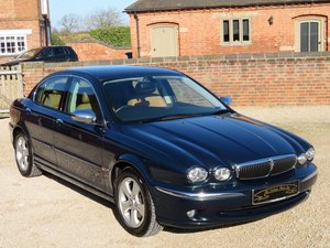 2002 JAGUAR X-TYPE 3.0 V6 AUTO SE  18K MILES FROM NEW 1 OWNER