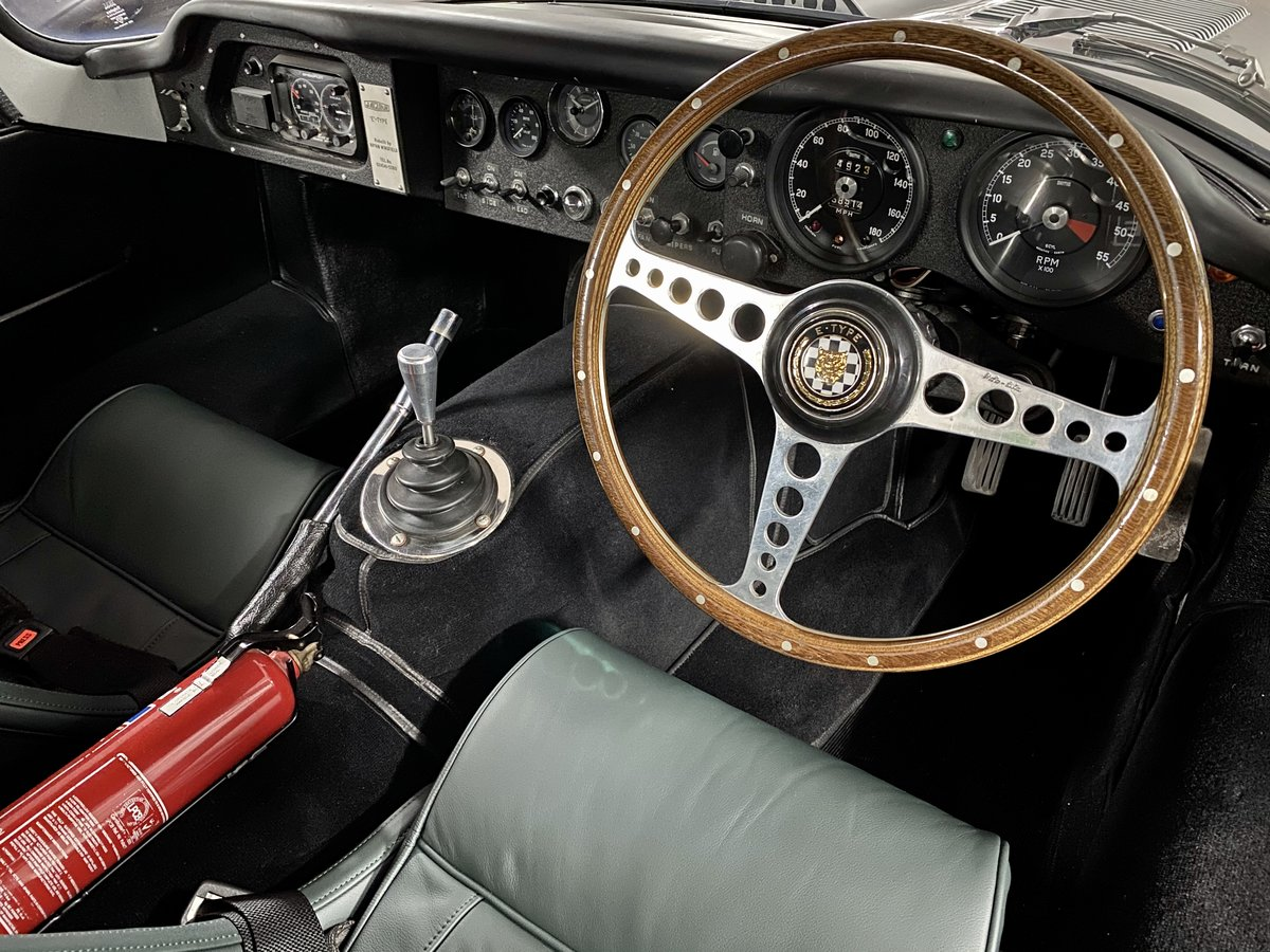 1969 Jaguar E-Type Low-Drag Lightweight Special SOLD (picture 4 of 24)
