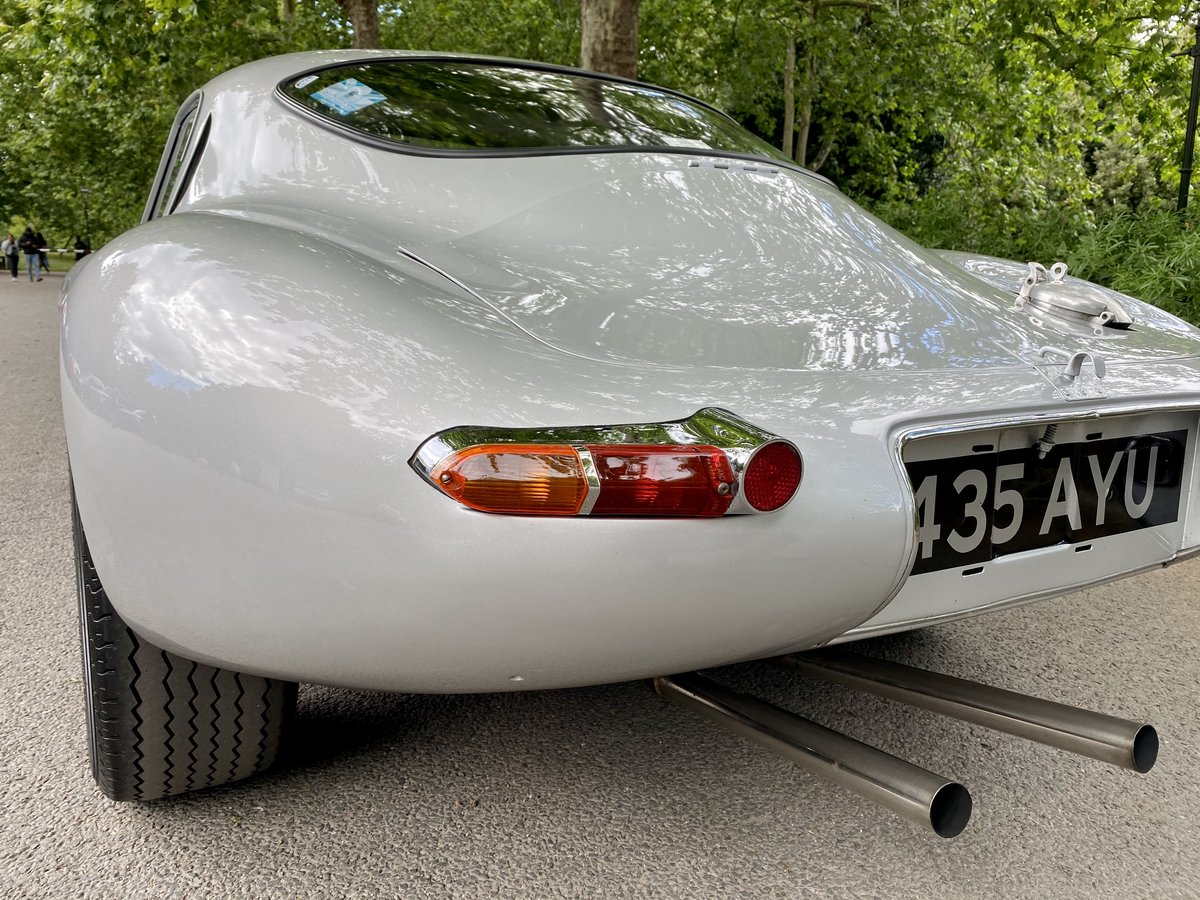 1969 Jaguar E-Type Low-Drag Lightweight Special SOLD (picture 24 of 24)