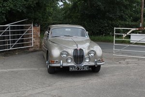1967 Jaguar S-Type 3.4 Manual with Overdrive, 20K Spent