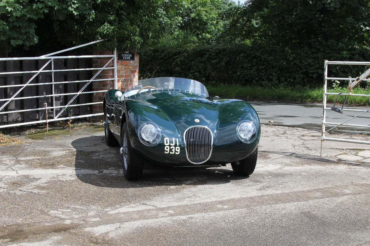 1951 Jaguar C-Type Recreation, Works Specification, Outstanding  For Sale (picture 1 of 16)