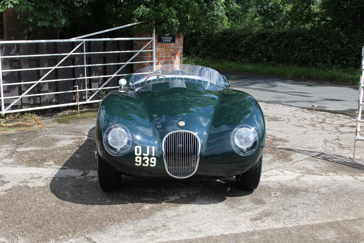 1951 Jaguar C-Type Recreation, Works Specification, Outstanding  For Sale (picture 2 of 16)