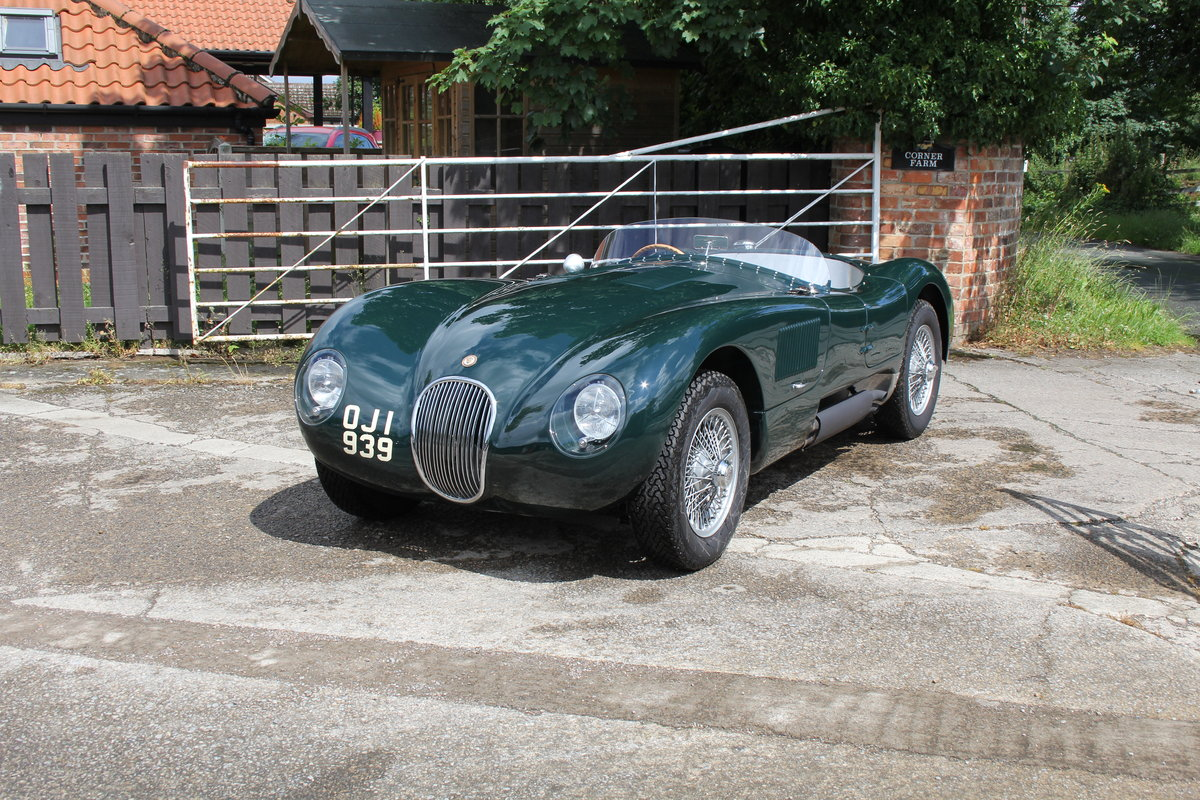1951 Jaguar C-Type Recreation, Works Specification, Outstanding  For Sale (picture 3 of 16)