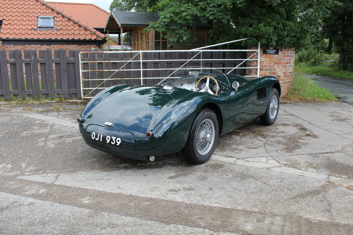 1951 Jaguar C-Type Recreation, Works Specification, Outstanding  For Sale (picture 6 of 16)