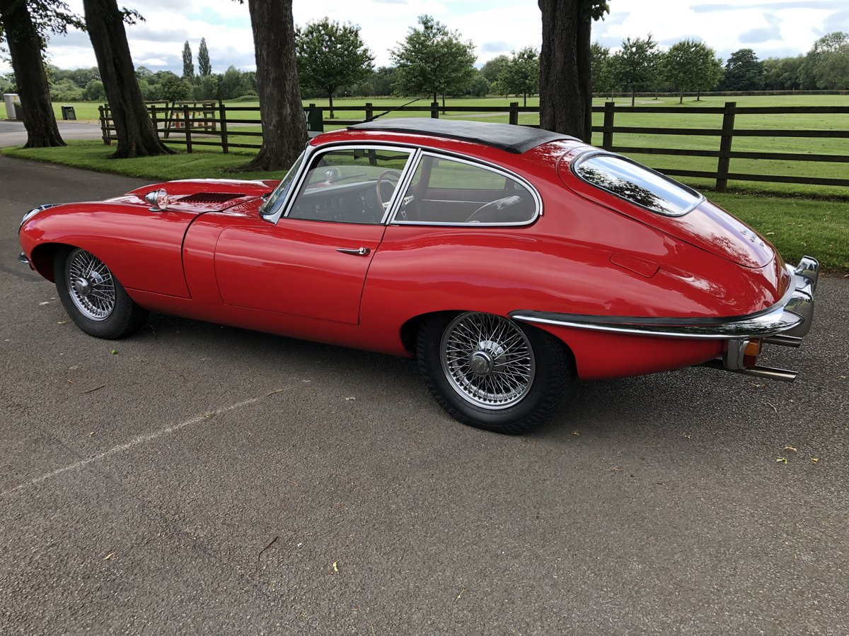1970 Jaguar E-Type 4.2 Coupe - RHD For Sale (picture 3 of 6)