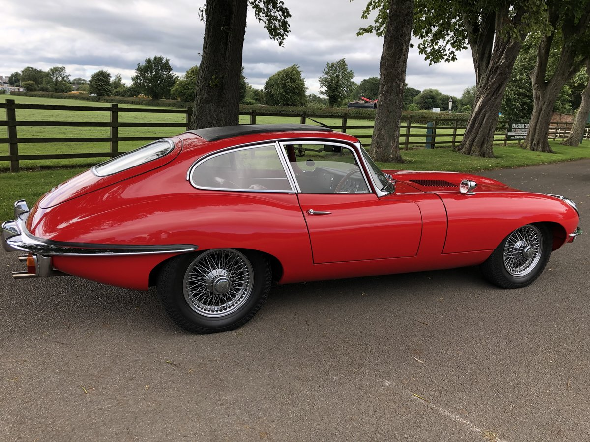1970 Jaguar E-Type 4.2 Coupe - RHD For Sale (picture 4 of 6)