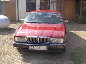 1989 Jaguar XJ40 Sovereign Bordeaux Red