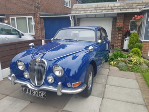 1966 Jaguar S type small Project manual