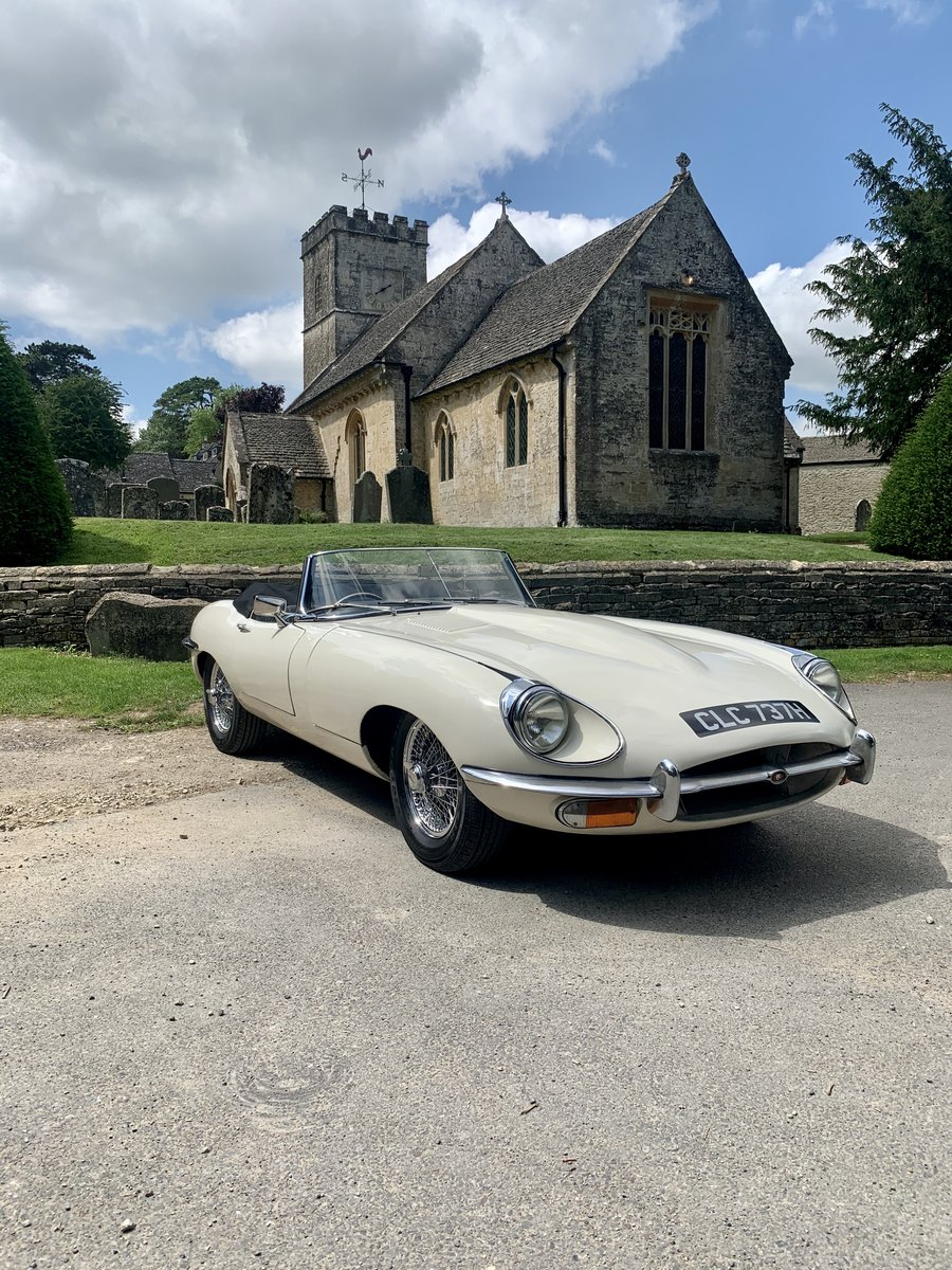 1969 Jaguar E-Type Roadster For Sale (picture 1 of 4)