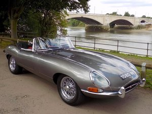 Picture of 1963 Jaguar E Type Series 1 3.8 Roadster SOLD