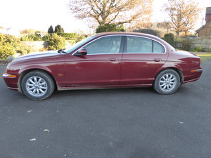 2002 Jaguar S-Type 2.5 V6 Petrol Manual