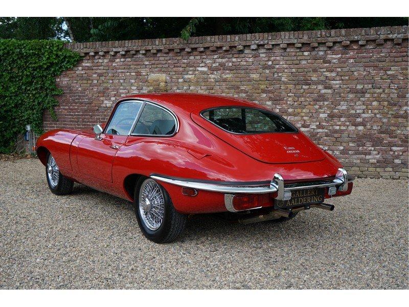 1969 Jaguar E-Type Series 2 Original colours, new interior For Sale (picture 2 of 6)