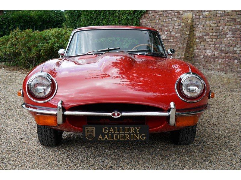 1969 Jaguar E-Type Series 2 Original colours, new interior For Sale (picture 6 of 6)