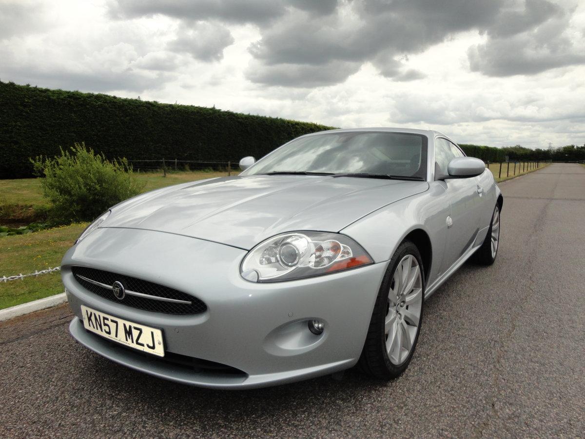2007 Jaguar XK 4.2 V8 Automatic Coupe For Sale (picture 1 of 6)