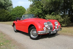 1958 Jaguar XK 150 Roadster For Sale