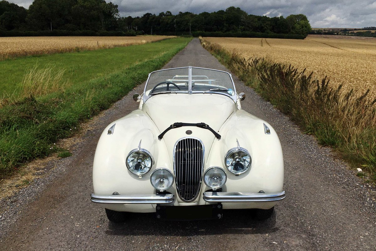 Jaguar XK120 OTS RHD 1951 - exceptional rally history For Sale (picture 1 of 6)