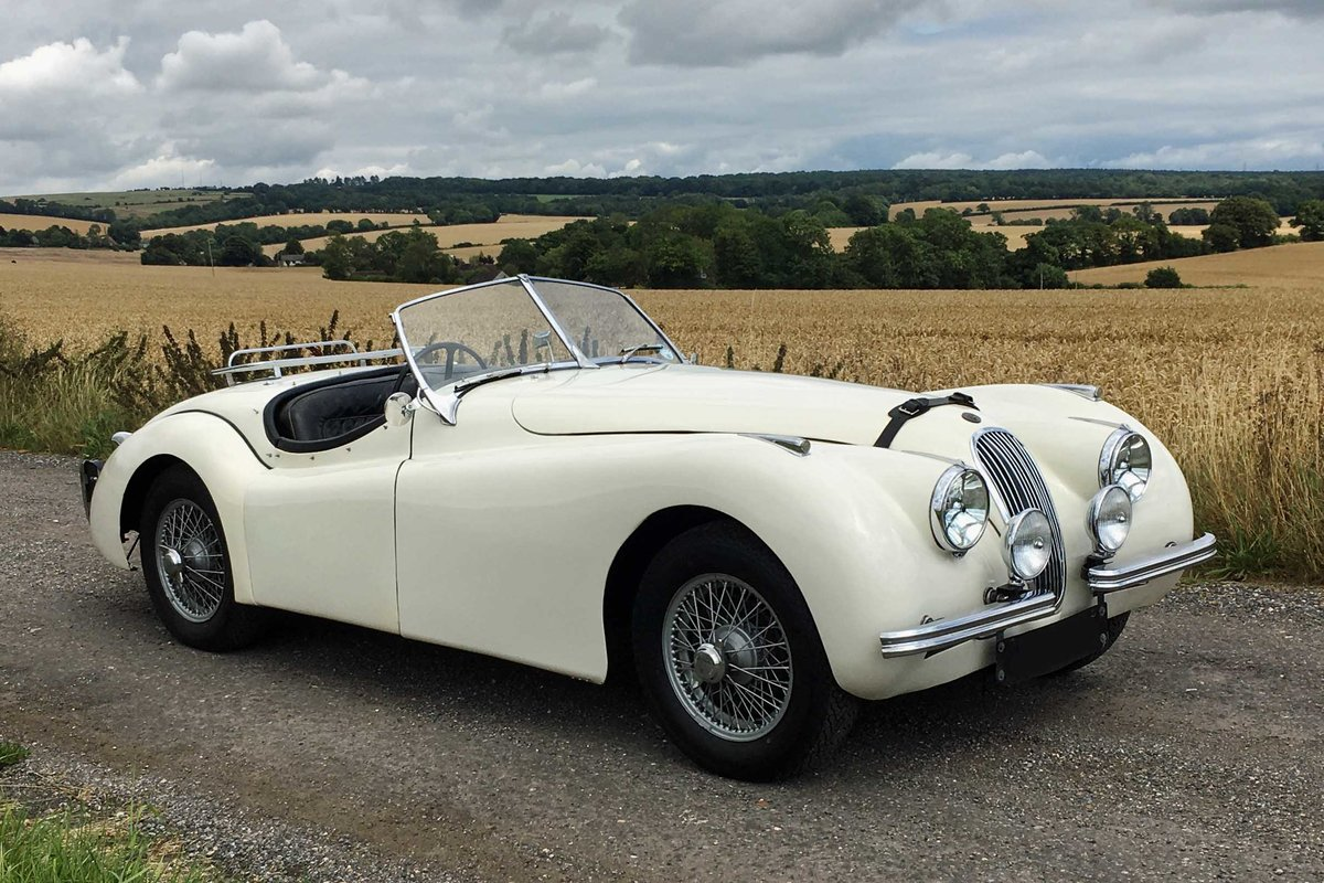 Jaguar XK120 OTS RHD 1951 - exceptional rally history For Sale (picture 2 of 6)