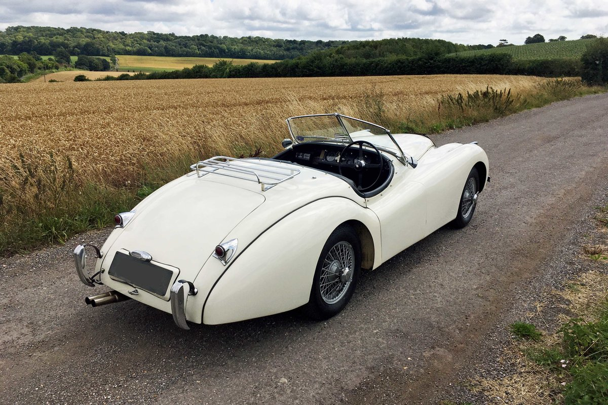 Jaguar XK120 OTS RHD 1951 - exceptional rally history For Sale (picture 3 of 6)