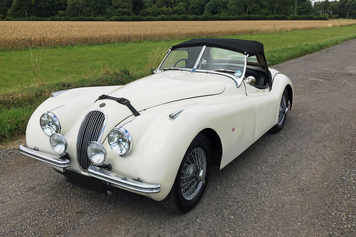 Jaguar XK120 OTS RHD 1951 - exceptional rally history For Sale (picture 4 of 6)