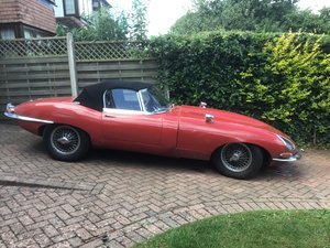 1963 Jaguar E Type 3.8