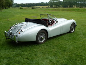 1985 Jaguar xk120 replica