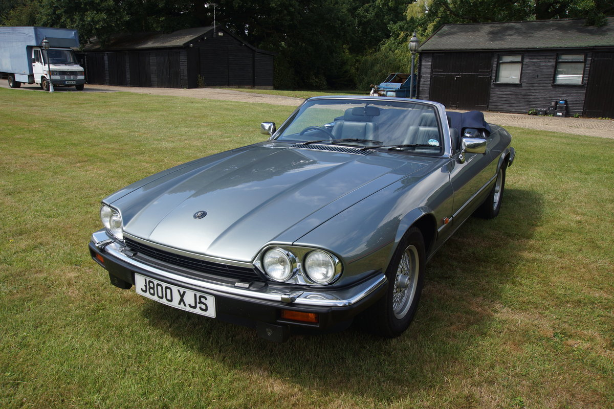 1991 Jaguar XJS CONVERTIBLE V12 For Sale   Car And Classic