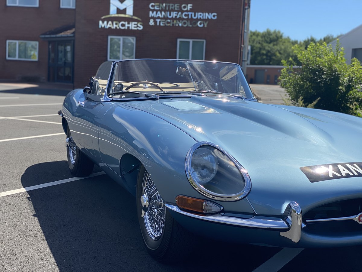 1962 Series 1 Jaguar 3.8 E-Type Roadster  For Sale (picture 6 of 6)