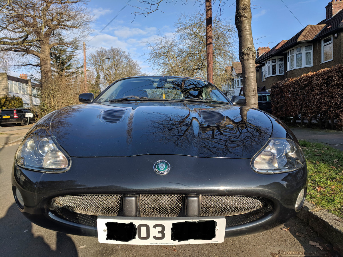2003 Jaguar XKR Coupe For Sale (picture 1 of 4)