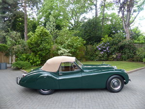 1953 Jaguar XK 120 Drop Head Coupe LHD For Sale