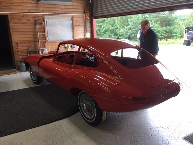 1968 Jaguar E-Type 2+2 Series 1 4.2 for rebuild For Sale (picture 3 of 6)