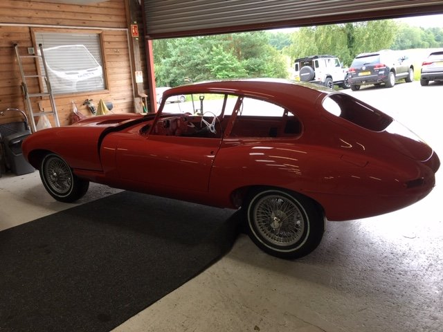 1968 Jaguar E-Type 2+2 Series 1 4.2 for rebuild For Sale (picture 4 of 6)