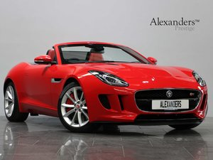 13 13 JAGUAR F TYPE S CONVERTIBLE 3.0 V6 AUTO