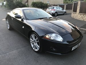 Stunning JAGUAR XK 4.2 auto black with ivory