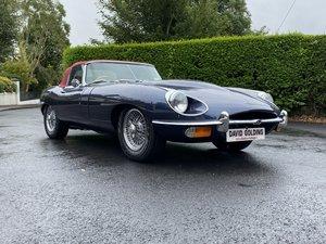 1969 Jaguar E Type Roadster S2 nut and bolt rebuild For Sale