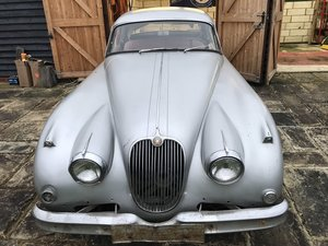 1957 Jaguar xk150 fhc lhd for restoration - number
