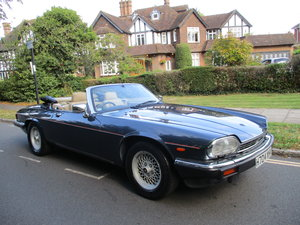JAGUARXJS CONVERTIBLE 1990 H REG 49,700 MILES 3  OWNERS  For Sale