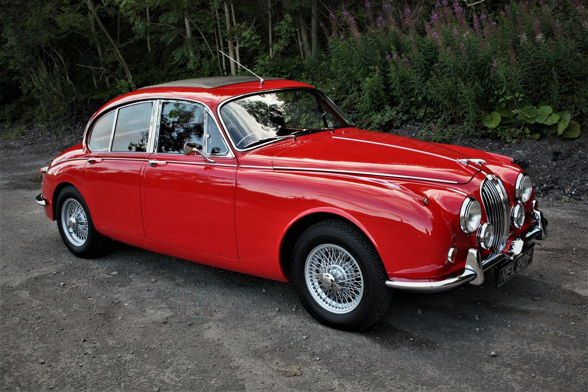 1968 Jaguar MkII 3.8 Manual - Fully Restored -Mk2 Coombs Vicarage SOLD (picture 1 of 6)