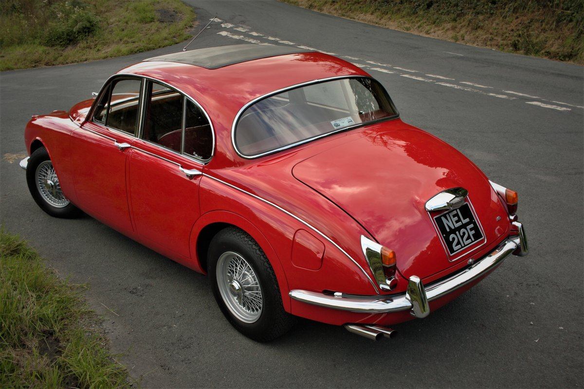 1968 Jaguar MkII 3.8 Manual - Fully Restored -Mk2 Coombs Vicarage SOLD (picture 2 of 6)