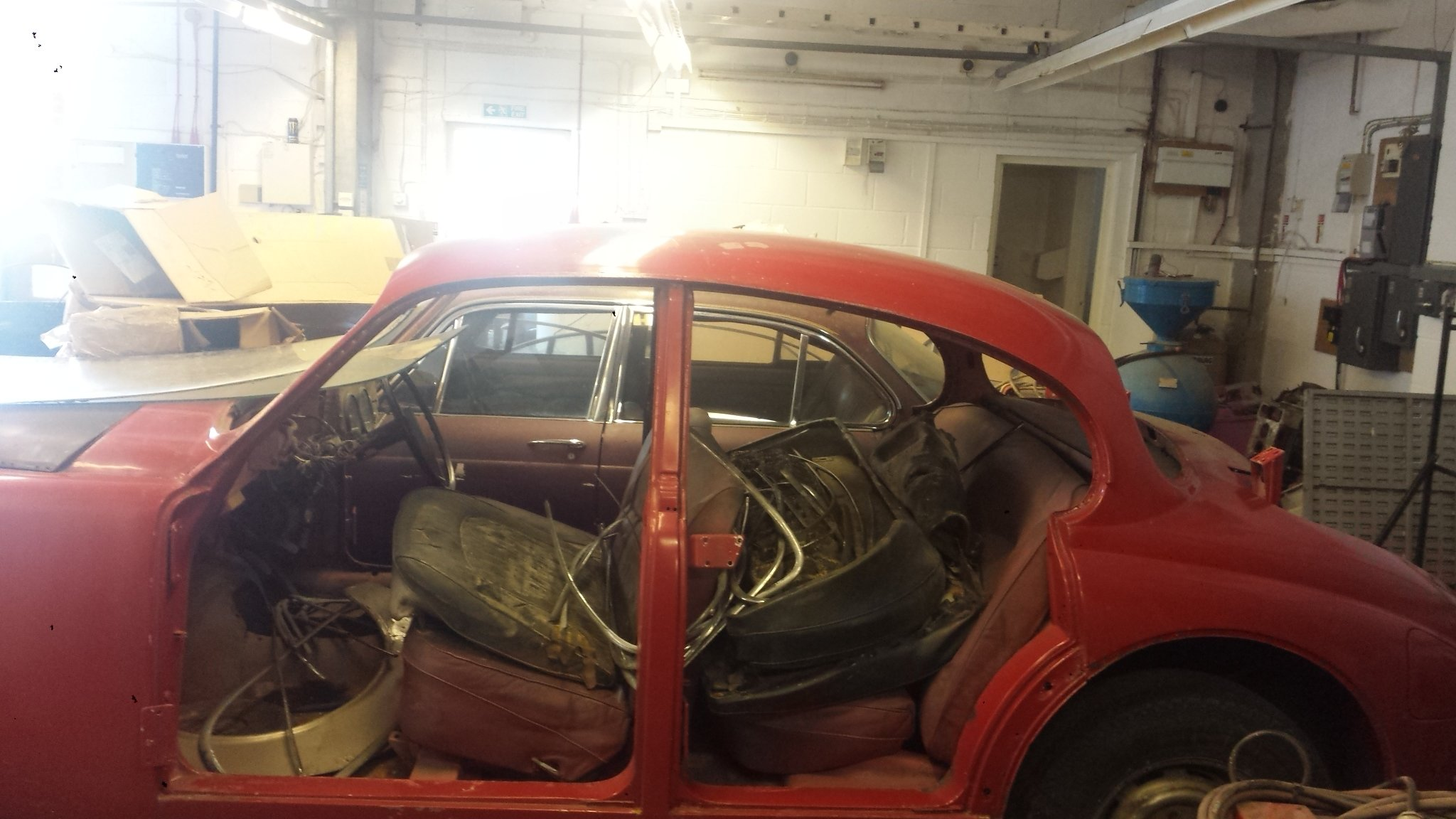 1967 JAGUAR 34 MK2 RESTORATION PROJECT For Sale (picture 2 of 6)