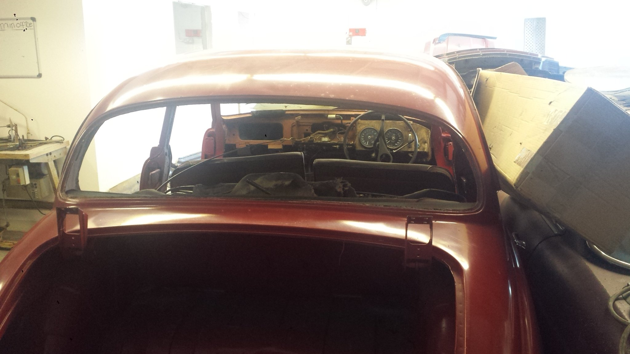 1967 JAGUAR 34 MK2 RESTORATION PROJECT For Sale (picture 6 of 6)