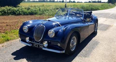 2015 Jaguar xk140 recreation replica 1959